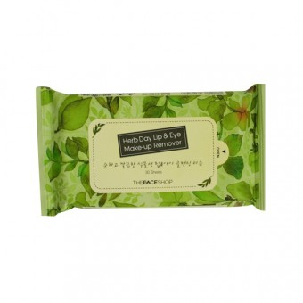 Herb Day Lip&Eye Make Up Remover Pads